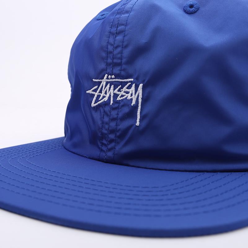 синюю  кепка stussy strapback cap 131939-blue - цена, описание, фото 3