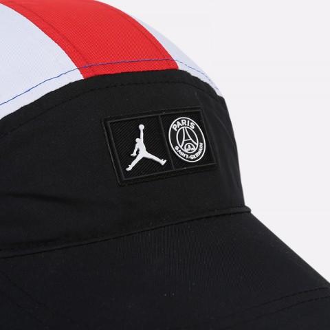 синюю, белую, красную, чёрную  кепка jordan psg tailwind cap CT6399-010 - цена, описание, фото 3
