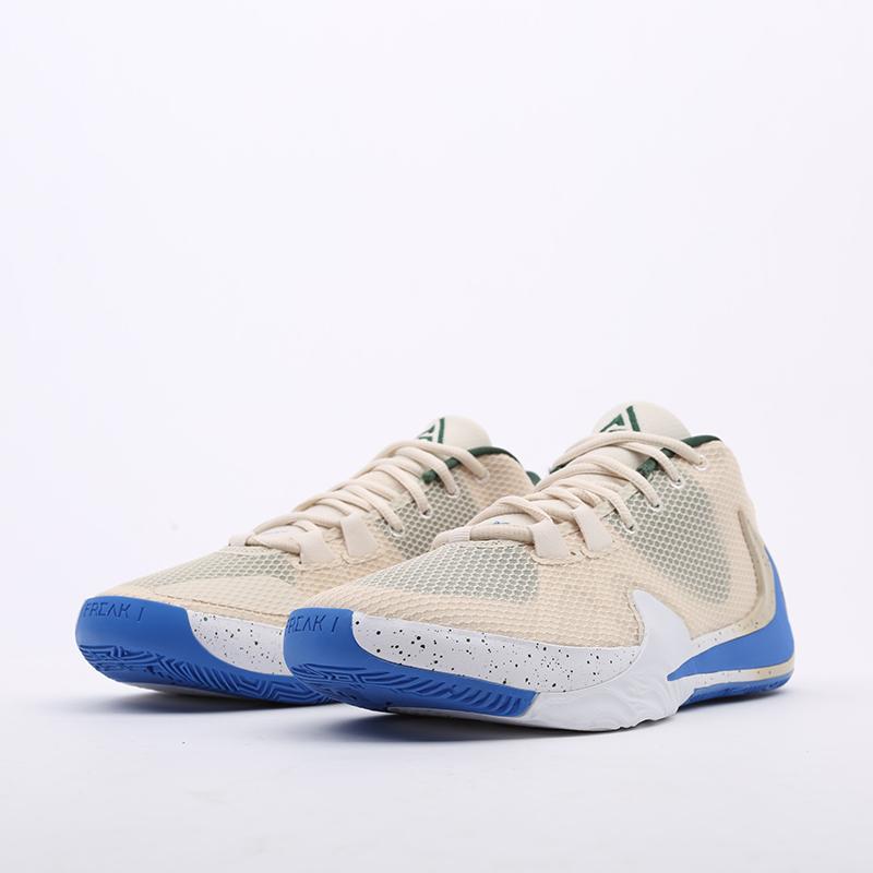 бежевые  кроссовки nike zoom freak 1 BQ5422-200 - цена, описание, фото 4