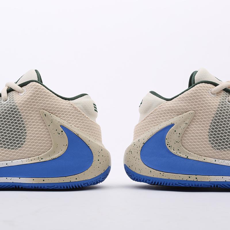 бежевые  кроссовки nike zoom freak 1 BQ5422-200 - цена, описание, фото 6