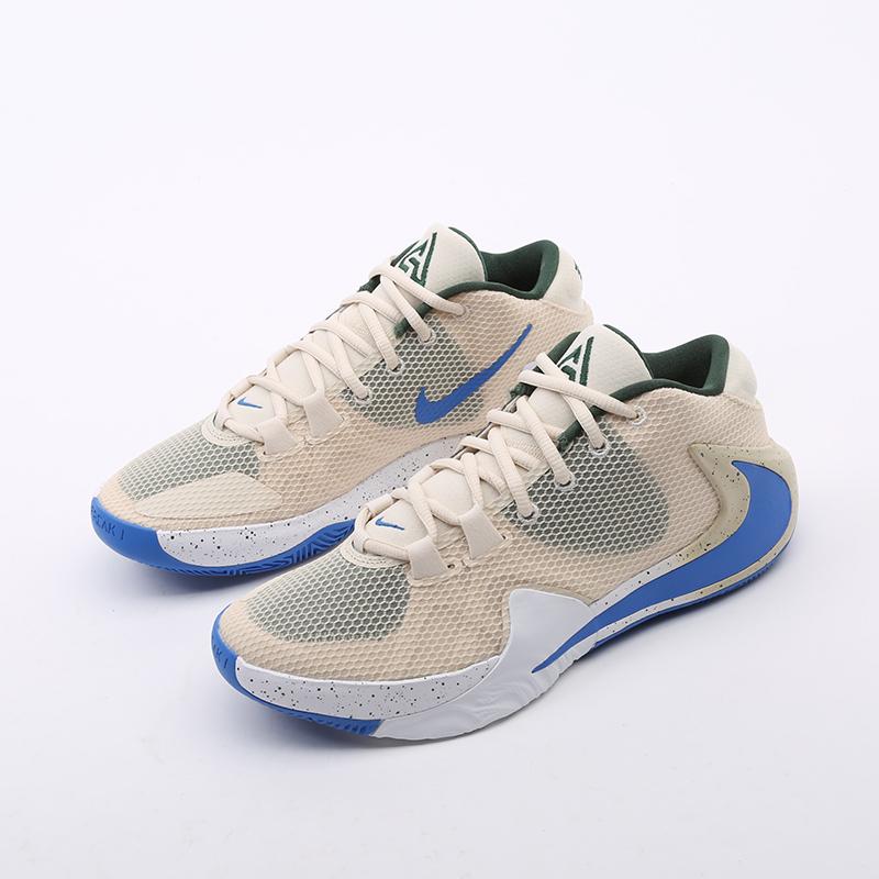 бежевые  кроссовки nike zoom freak 1 BQ5422-200 - цена, описание, фото 5