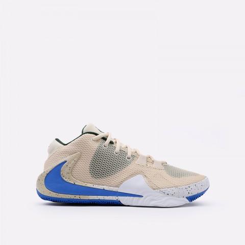 бежевые  кроссовки nike zoom freak 1 BQ5422-200 - цена, описание, фото 1