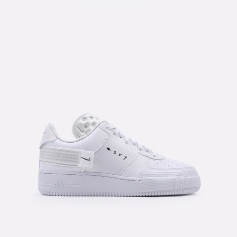 мужские белые  кроссовки nike air force 1 type 2 CT2584-100 - цена, описание, фото 1