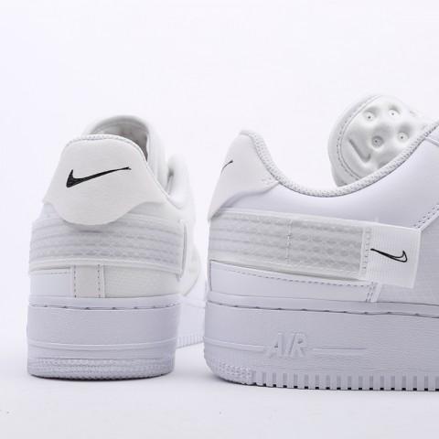 мужские белые  кроссовки nike air force 1 type 2 CT2584-100 - цена, описание, фото 3