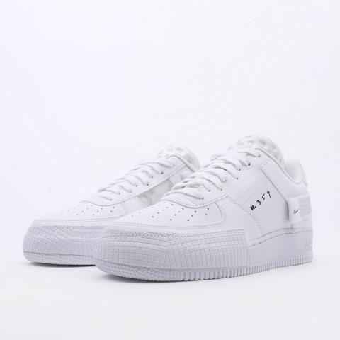 мужские белые  кроссовки nike air force 1 type 2 CT2584-100 - цена, описание, фото 6