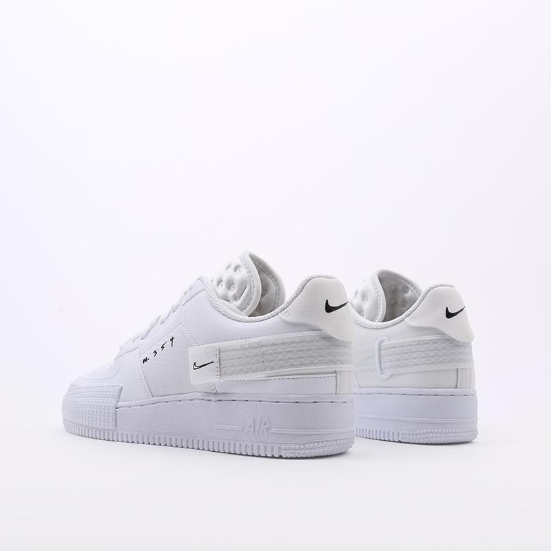 мужские белые  кроссовки nike air force 1 type 2 CT2584-100 - цена, описание, фото 5