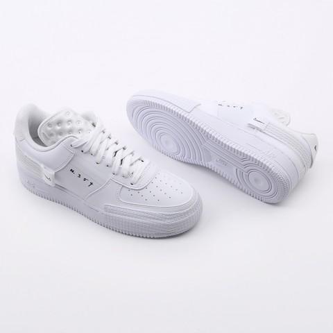 мужские белые  кроссовки nike air force 1 type 2 CT2584-100 - цена, описание, фото 4