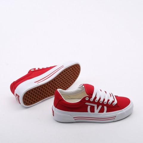 красные  кеды vans sid ni VA4BNFI7RM - цена, описание, фото 6
