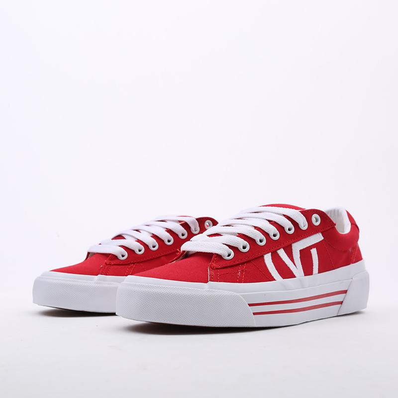 красные  кеды vans sid ni VA4BNFI7RM - цена, описание, фото 3