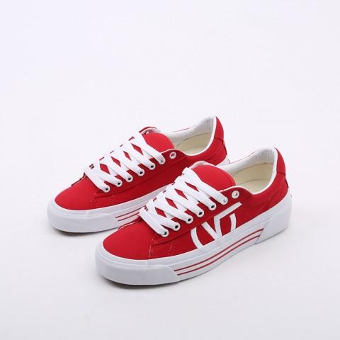 красные  кеды vans sid ni VA4BNFI7RM - цена, описание, фото 4