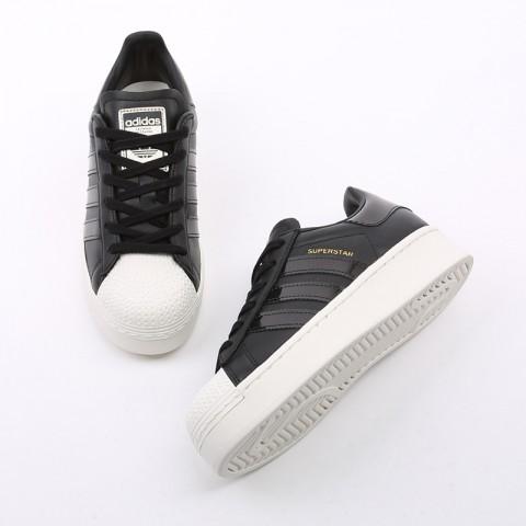 женские черные  кроссовки adidas superstar bold w FV3354 - цена, описание, фото 6