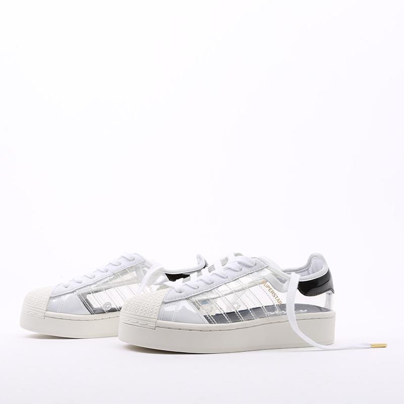 женские белые  кроссовки adidas superstar bold w FV3361 - цена, описание, фото 4