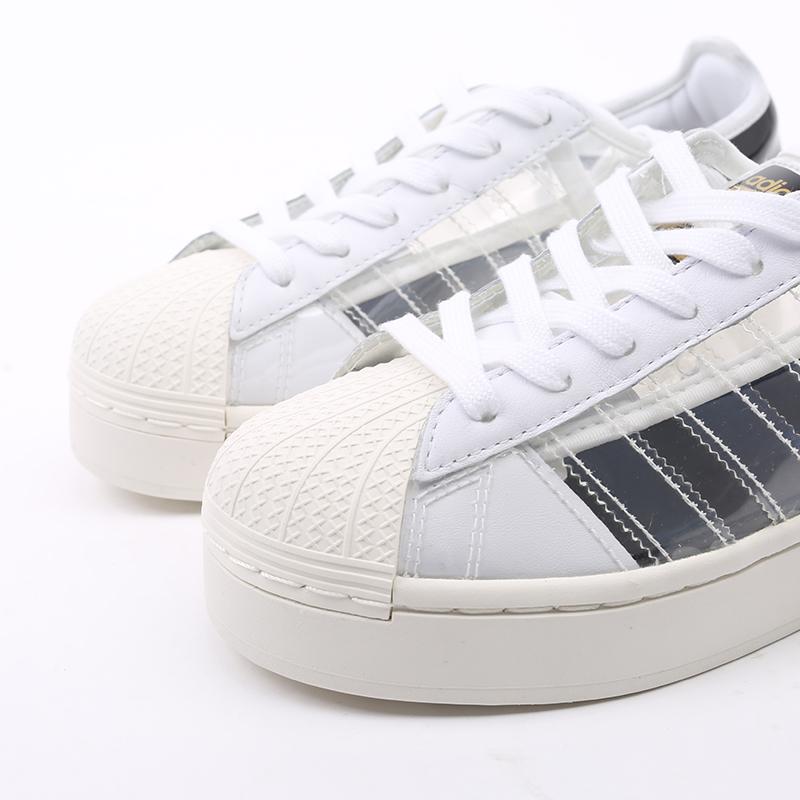 женские белые  кроссовки adidas superstar bold w FV3361 - цена, описание, фото 5