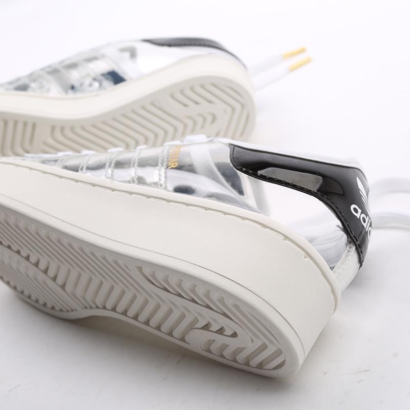 женские белые  кроссовки adidas superstar bold w FV3361 - цена, описание, фото 6