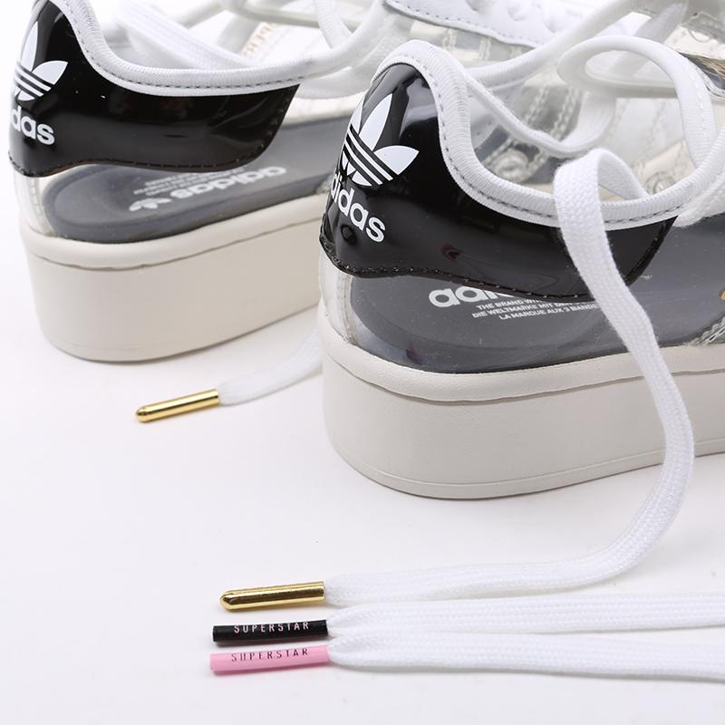 женские белые  кроссовки adidas superstar bold w FV3361 - цена, описание, фото 7