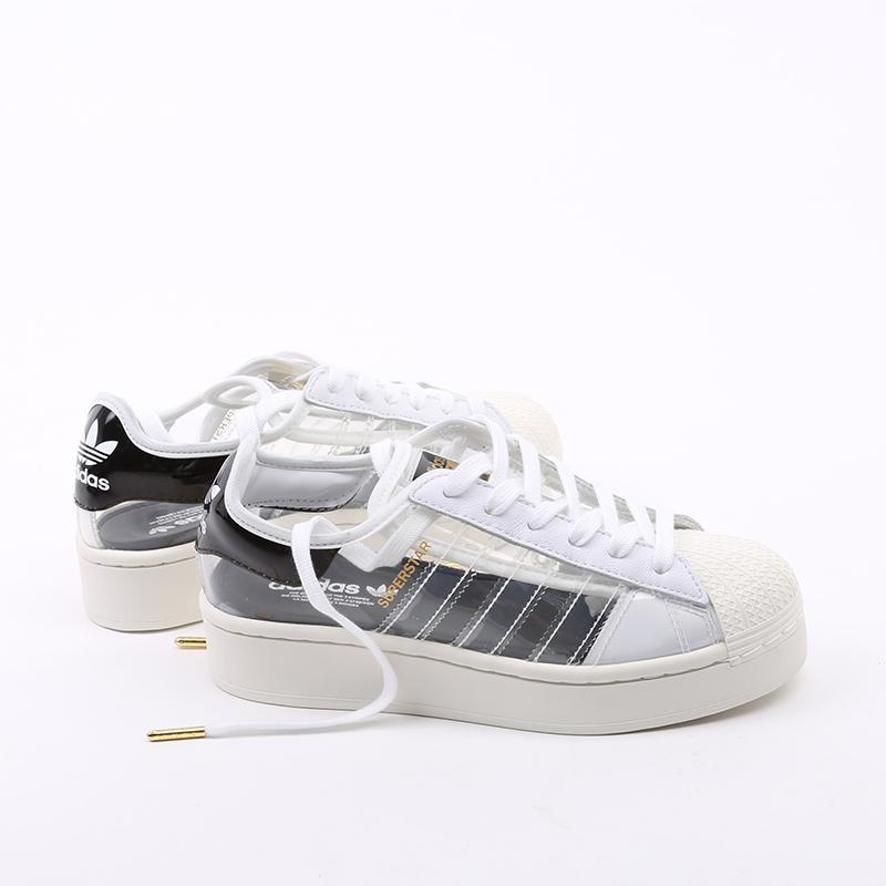 женские белые  кроссовки adidas superstar bold w FV3361 - цена, описание, фото 2