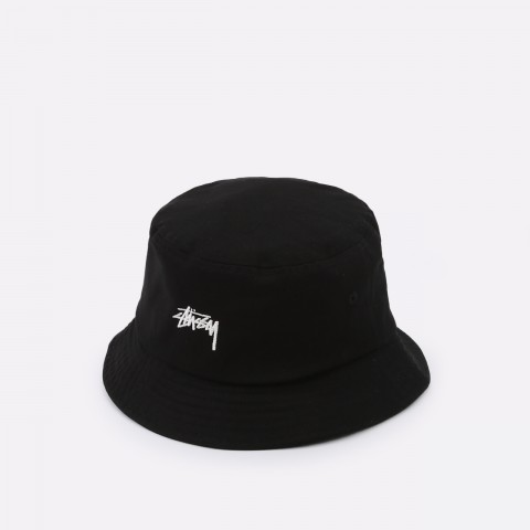 черную  панама stussy bucket hat 132974-black - цена, описание, фото 1