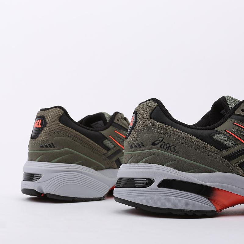 мужские зеленые  кроссовки asics gel-1090 1021A385-300 - цена, описание, фото 5