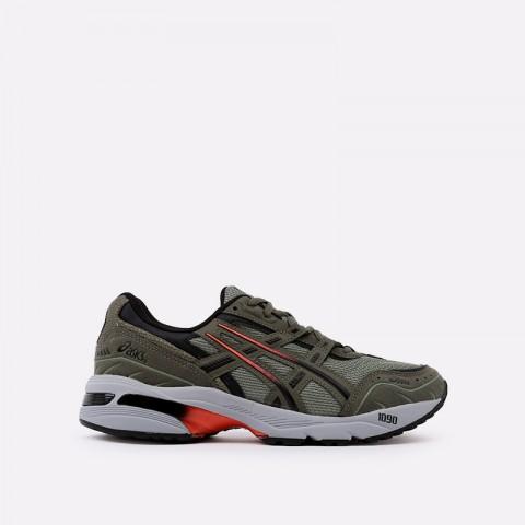 мужские зеленые  кроссовки asics gel-1090 1021A385-300 - цена, описание, фото 1