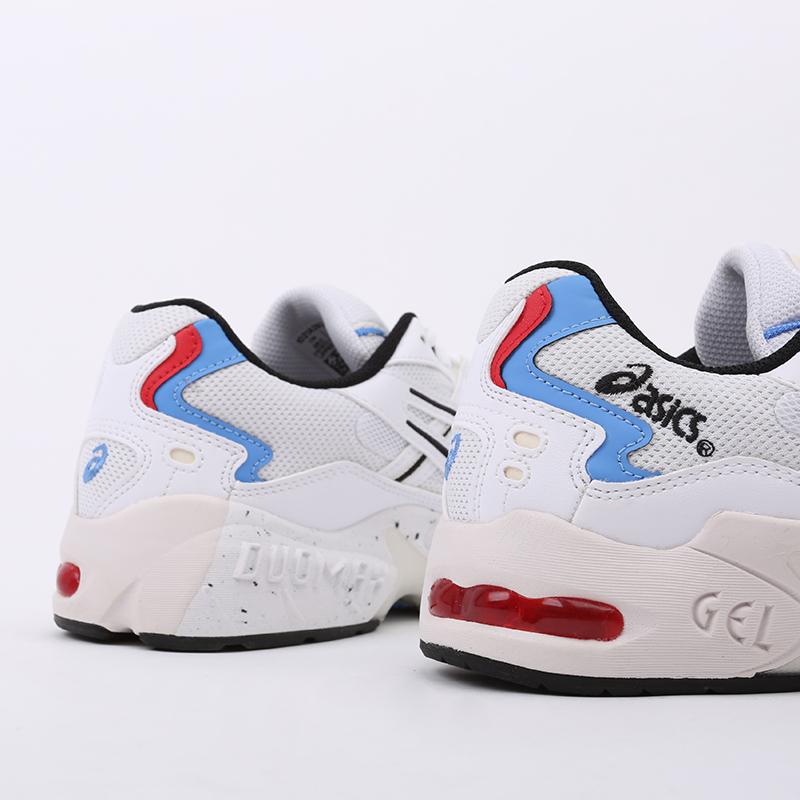 мужские белые  кроссовки asics gel-kayano 5 og 1021A280-100 - цена, описание, фото 5