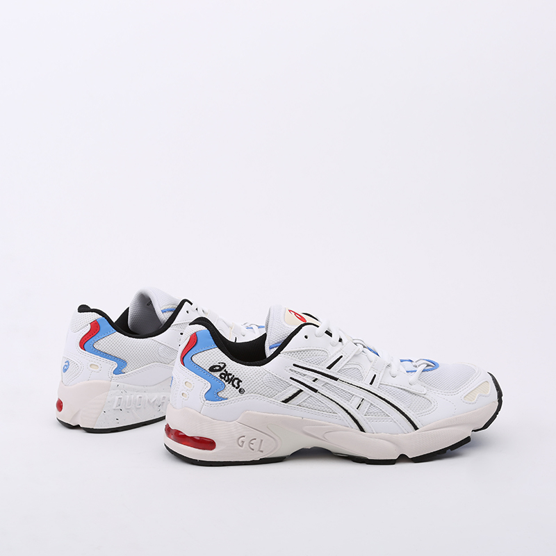 мужские белые  кроссовки asics gel-kayano 5 og 1021A280-100 - цена, описание, фото 6