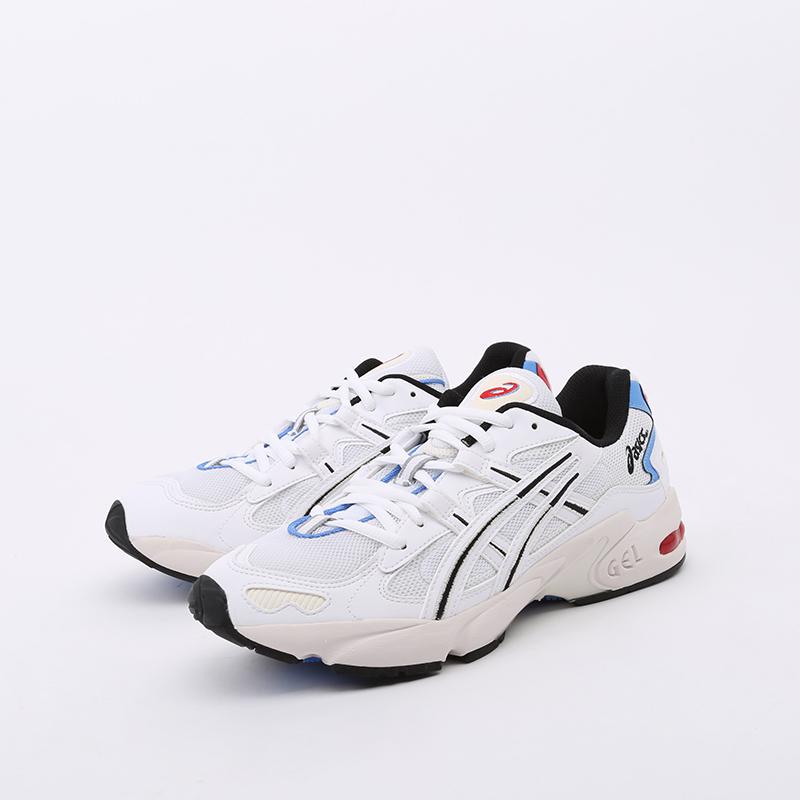 мужские белые  кроссовки asics gel-kayano 5 og 1021A280-100 - цена, описание, фото 4