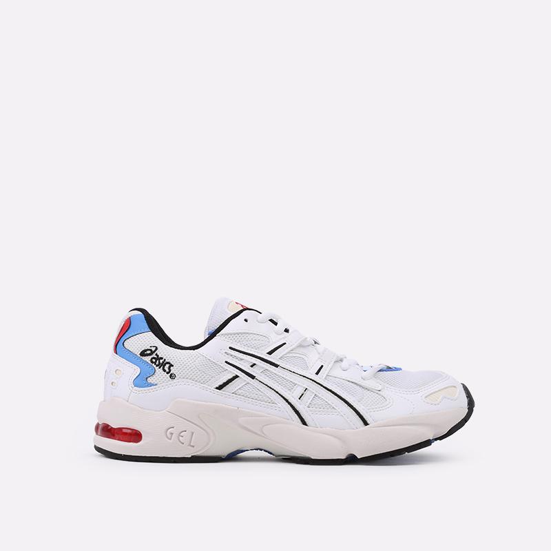 мужские белые  кроссовки asics gel-kayano 5 og 1021A280-100 - цена, описание, фото 1