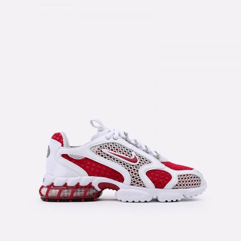 женские красные, белые  кроссовки nike air zoom spiridon cage 2 CD3613-600 - цена, описание, фото 1