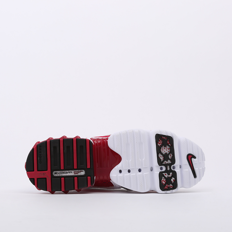 женские красные, белые  кроссовки nike air zoom spiridon cage 2 CD3613-600 - цена, описание, фото 4