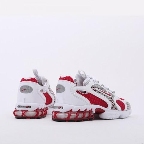 женские красные, белые  кроссовки nike air zoom spiridon cage 2 CD3613-600 - цена, описание, фото 5