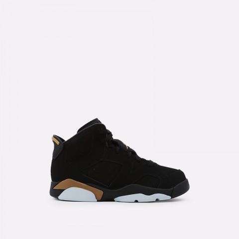 детские чёрные  кроссовки jordan 6 retro dmp (td) CT4966-007 - цена, описание, фото 1