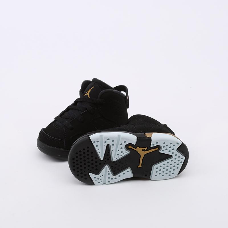 детские чёрные  кроссовки jordan 6 retro dmp (td) CT4966-007 - цена, описание, фото 5
