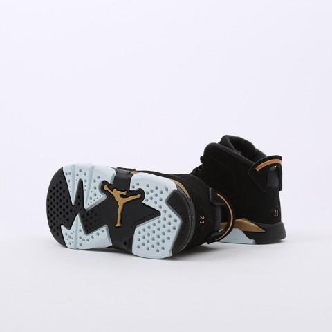 детские чёрные  кроссовки jordan 6 retro dmp (td) CT4966-007 - цена, описание, фото 6