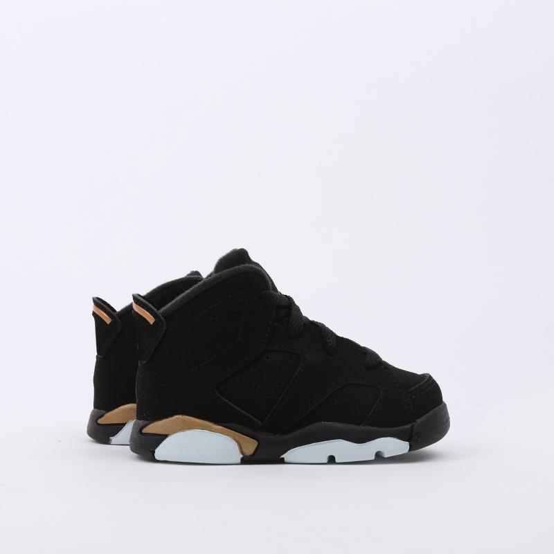 детские чёрные  кроссовки jordan 6 retro dmp (td) CT4966-007 - цена, описание, фото 2