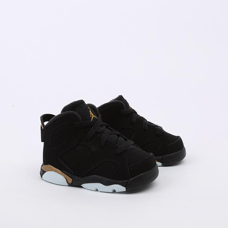 детские чёрные  кроссовки jordan 6 retro dmp (td) CT4966-007 - цена, описание, фото 3