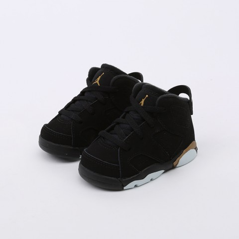 детские чёрные  кроссовки jordan 6 retro dmp (td) CT4966-007 - цена, описание, фото 4