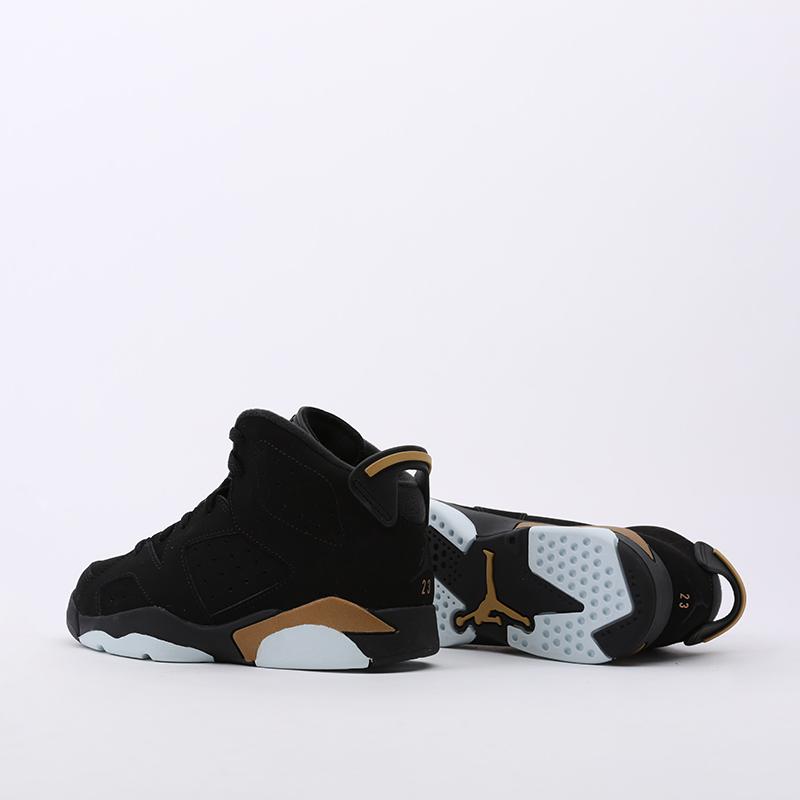 детские чёрные  кроссовки jordan 6 retro dmp (ps) CT4965-007 - цена, описание, фото 5