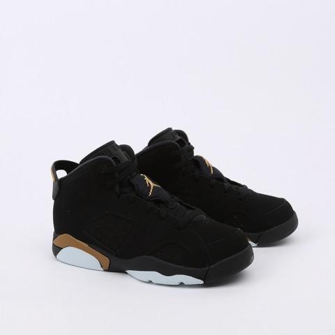 детские чёрные  кроссовки jordan 6 retro dmp (ps) CT4965-007 - цена, описание, фото 2