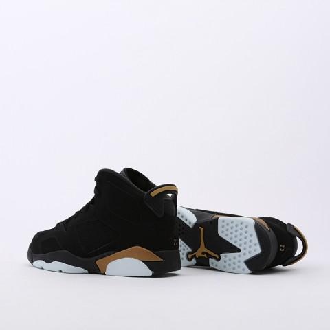 детские чёрные  кроссовки jordan 6 retro dmp (ps) CT4965-007 - цена, описание, фото 4