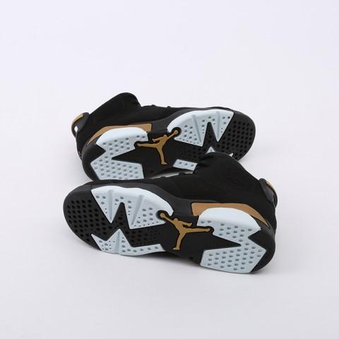 детские чёрные  кроссовки jordan 6 retro dmp (ps) CT4965-007 - цена, описание, фото 6