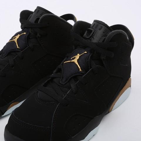 детские чёрные  кроссовки jordan 6 retro dmp (ps) CT4965-007 - цена, описание, фото 7