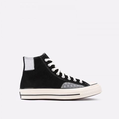 чёрные  кеды converse chuck 70 hi 166855 - цена, описание, фото 1
