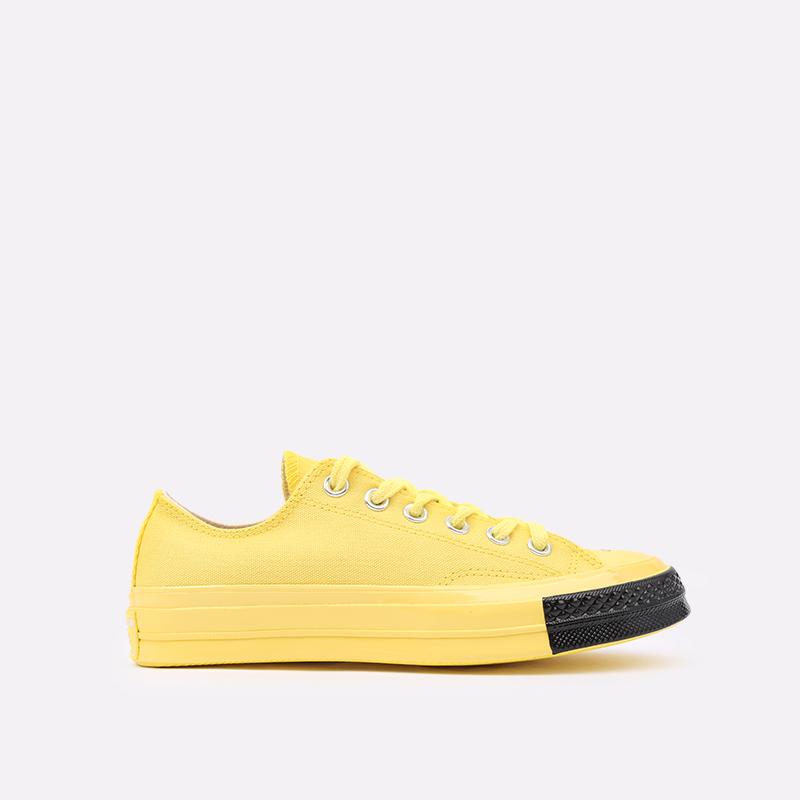 жёлтые  кеды converse chuck 70 ox x undercover 163011 - цена, описание, фото 1