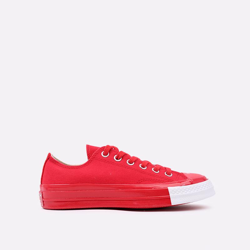 красные  кеды converse chuck 70 ox x undercover 163012 - цена, описание, фото 1