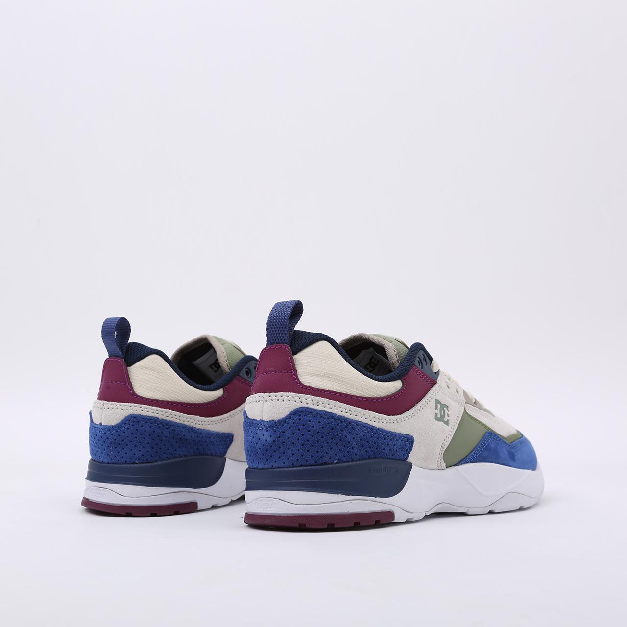 мужские разноцветные  кроссовки dc shoes e. tribeka se ADYS700142-xbwg-xbwg - цена, описание, фото 3
