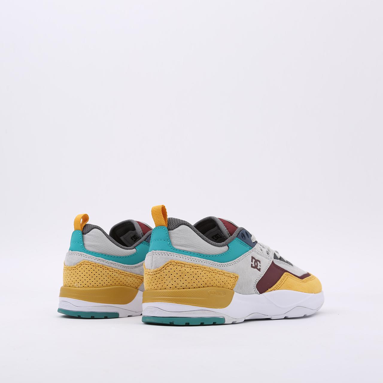 мужские разноцветные  кроссовки dc shoes e. tribeka se ADYS700142-xsky-xsky - цена, описание, фото 3