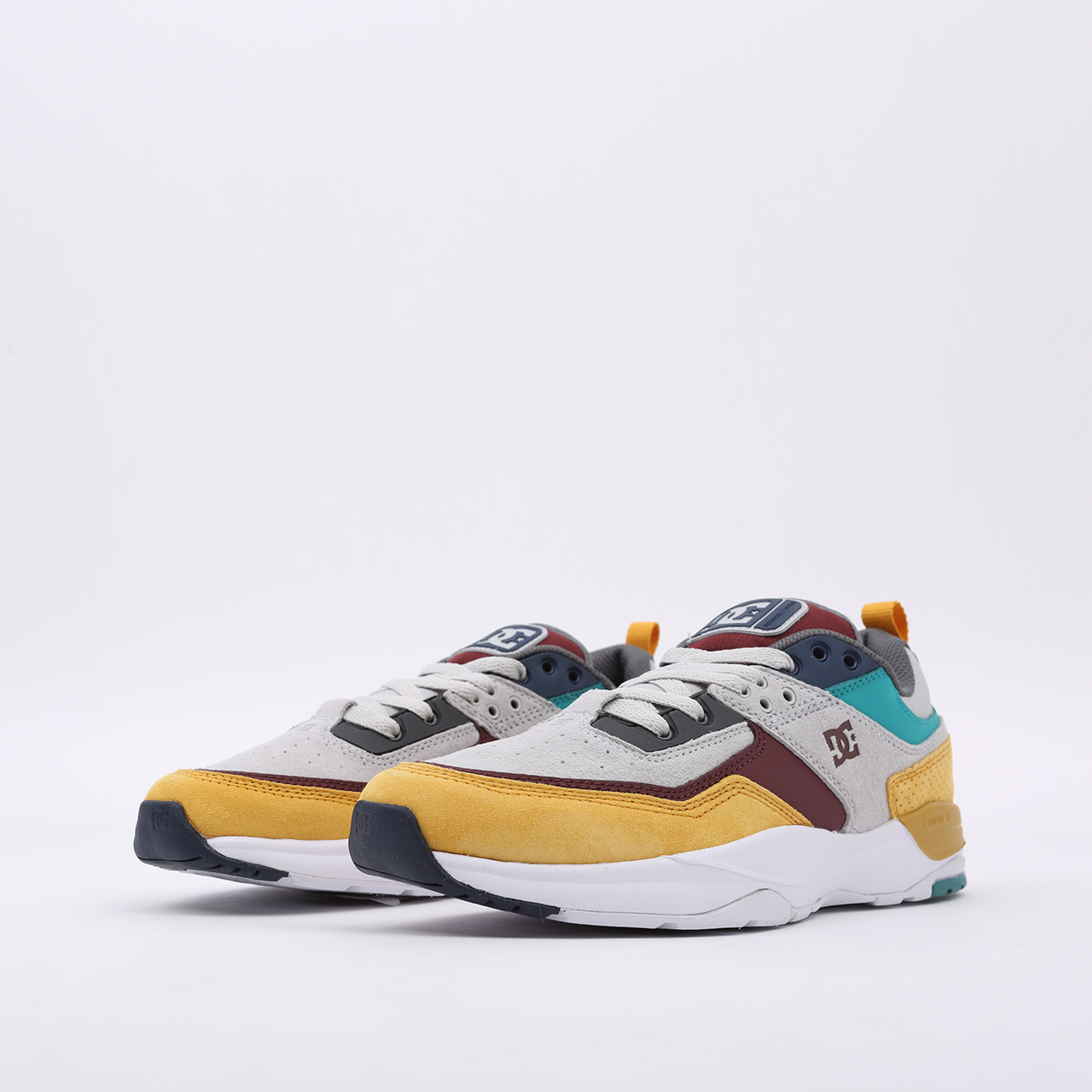 мужские разноцветные  кроссовки dc shoes e. tribeka se ADYS700142-xsky-xsky - цена, описание, фото 4