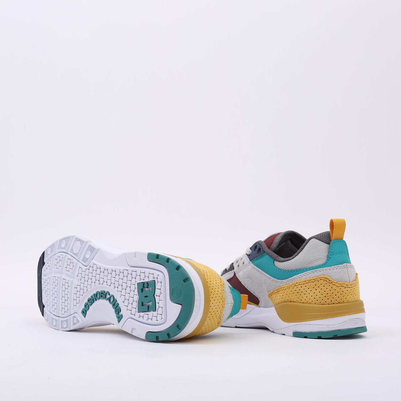 мужские разноцветные  кроссовки dc shoes e. tribeka se ADYS700142-xsky-xsky - цена, описание, фото 5