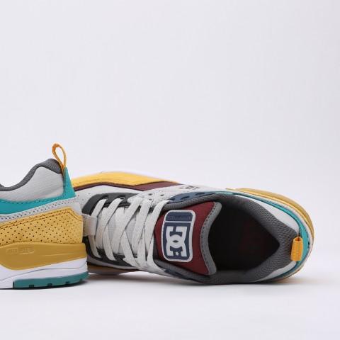 мужские разноцветные  кроссовки dc shoes e. tribeka se ADYS700142-xsky-xsky - цена, описание, фото 6