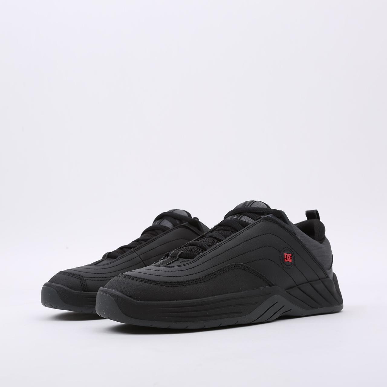 мужские чёрные  кроссовки dc shoes williams slim ADYS100539-bda-bda - цена, описание, фото 6